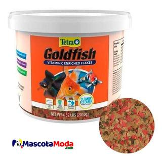 Alimento Tetra En Hojuelas Tacho 2 Kilos Peces Goldfish Koy