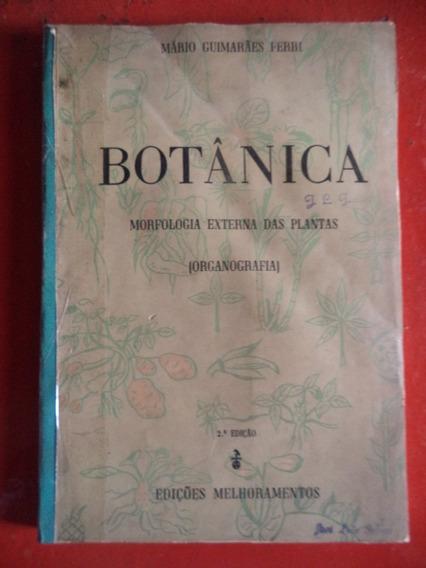 Morfologia Externa Das Plantas Livro De 1959 - Mário Ferri