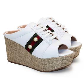 41f26c4d30 Sandalia Anabela Saltare - Sapatos no Mercado Livre Brasil