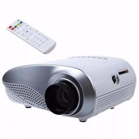 Mini Projetor Led 100 Pol 200 Lumens Hdmi Usb Sd Tv