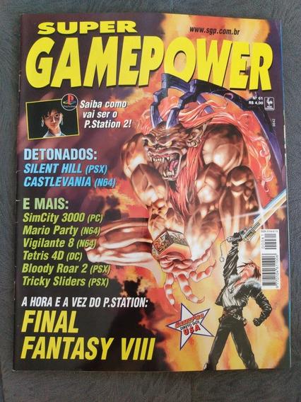 Revista Super Gamepower Nº 61 Castlevania 64 Final Fantasy 8
