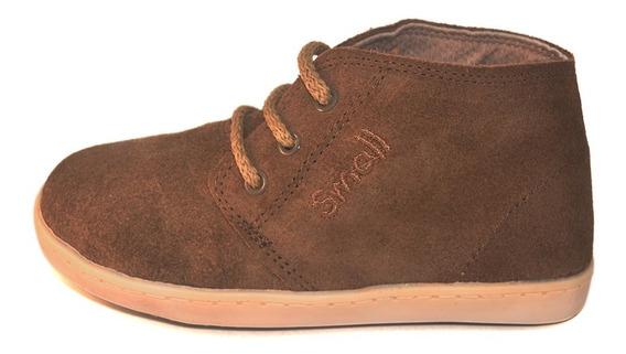 Bota Gamuza Cordon Small Shoes 2 Variantes