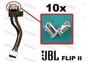Lote Atacado 10x Conector Dock Carga Caixa Som Jbl Flip 2
