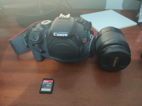 Câmera Canon T3i, Lente 18-55 + Filtros, Cartão, Frete Grati