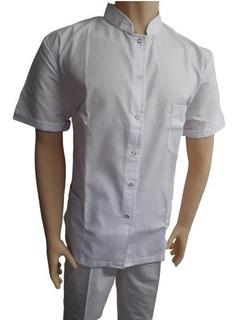 Ambo Medico Tela Arciel Cuello Mao Hombre Sanidad