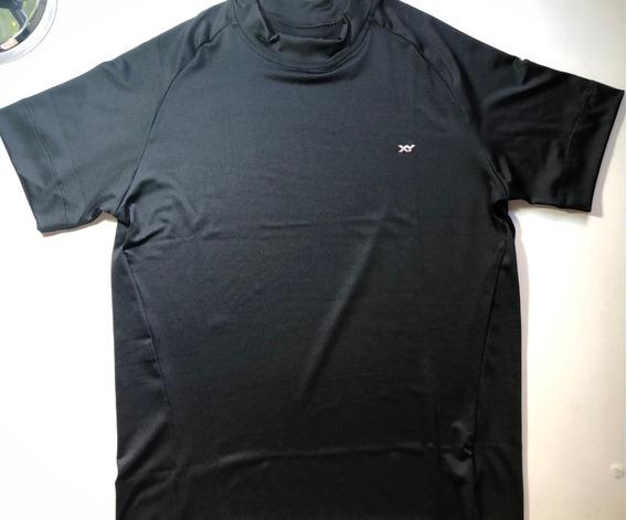 Camiseta Manga Corta Microfibra Xy Excelente Calidad