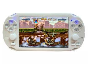 Mini Game Portátil Retrô + 3.000 Jogos Super Nintendo Vídeo