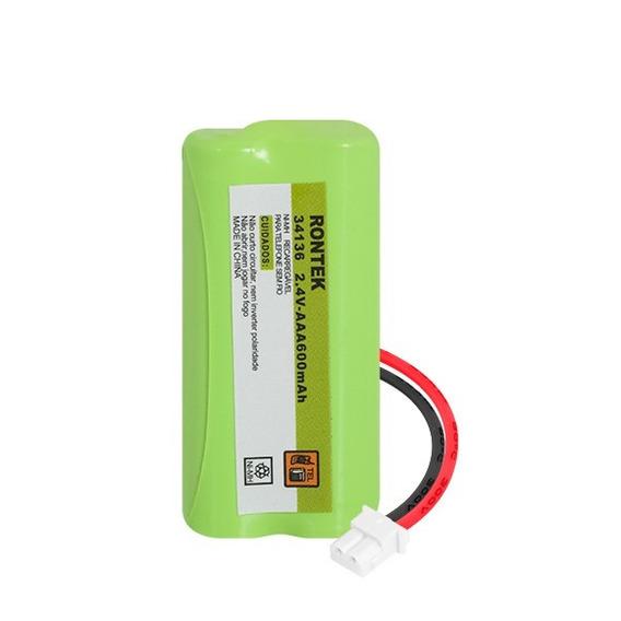 Bateria 2.4v 600mah Aaa Para Telefone Intelbrás