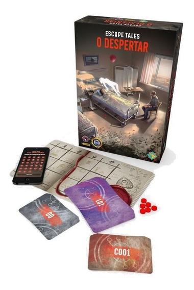 Escape Tales: O Despertar Jogo De Tabuleiro Board Game Grok