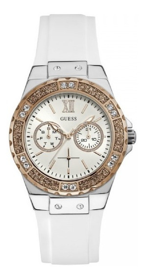 Relógio Feminino Guess 92696lpgsgu1 Branco Original C/ Nfe
