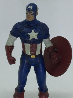 Capitão América - Figura Em Metal - Marvel - Cod. Ajl 6364