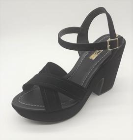 1959b7de8f Sandalia Plataforma Moleca - Sapatos no Mercado Livre Brasil