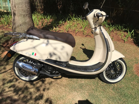 Scooter Retrô / Vintage Capuccino Motorino