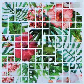 Kit 10 Placas Adesivo Parede Pastilha Mosaico 3d Cozinha