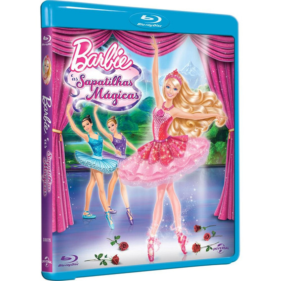 Blu-ray - Barbie E As Sapatilhas Mágicas