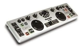 Controlador Dj Numark Dj2go Mixer Virtual Jog Portatil Usb