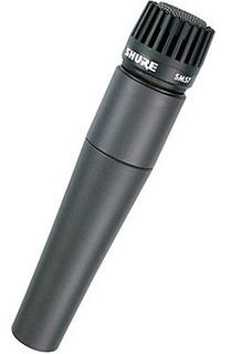 Micrófono Shure Sm57 Dynamic + Pedestal + Cable