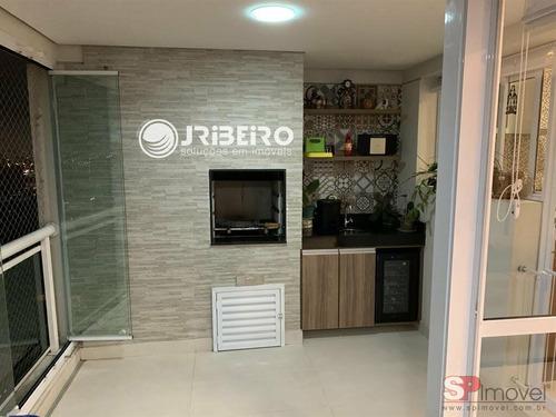 Apartamento De Alto Padrão 03 Suítes 02 Vagas Varanda Gourmet Para Venda Em Vila Maria Alta São Paulo-sp - 127681d