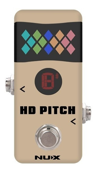 Pedal De Afinador Nux Mini Core Hd Pitch Para Guitarra Bajo