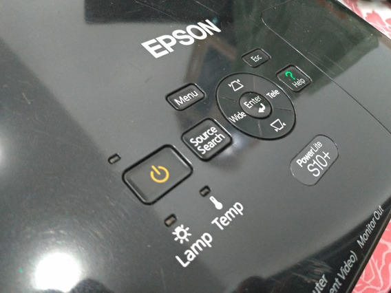 Projetor Epson Powerlite S10+
