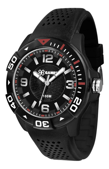 Relógio X Games Masculino Xmpp0020 P2px Preto - Refinado