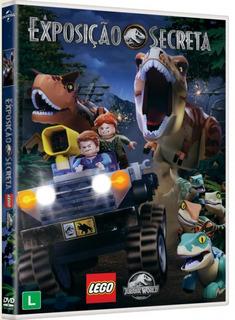 Dvd Lego Jurassic World - A Exposição Secreta