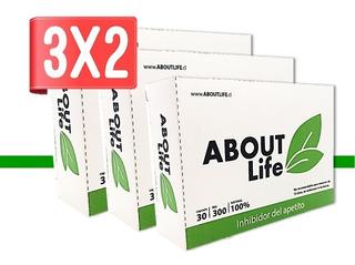 Oferta 3x2 Pastillas Perdida De Peso About Life Inhibidor D