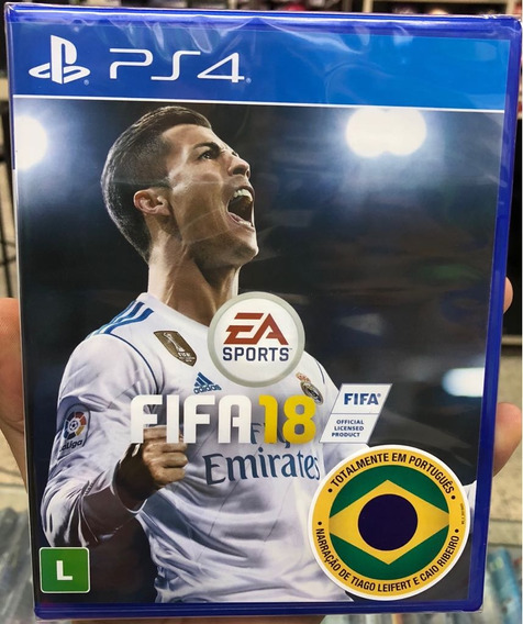 Fifa 18 Playstation 4 Mídia Física