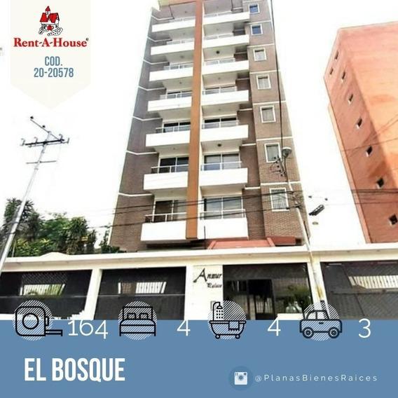 Apartamento En Venta En Maracay, El Bosque 20-20578 Scp