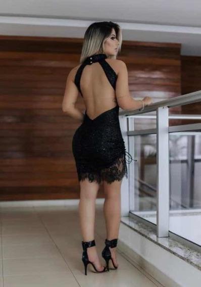 Vestido Balada Sexy Luxo