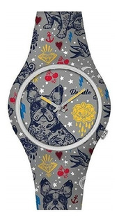 Reloj Doodle Watch Doar004- French Bulldog- Tattoo