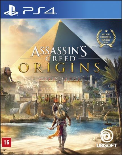 Jogo Assassins Creed Origins Ps4 Física Português Lacrado