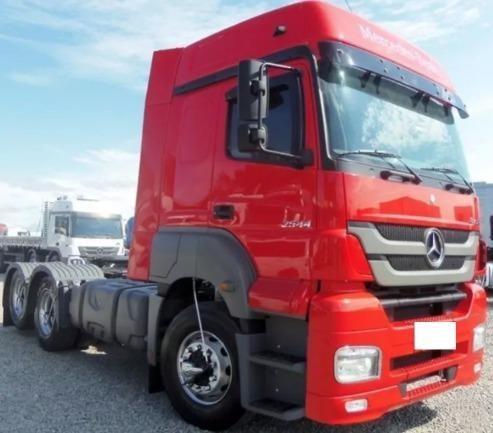 Mercedes-benz Mb Axor 2544 6x2 14/14 Impecável