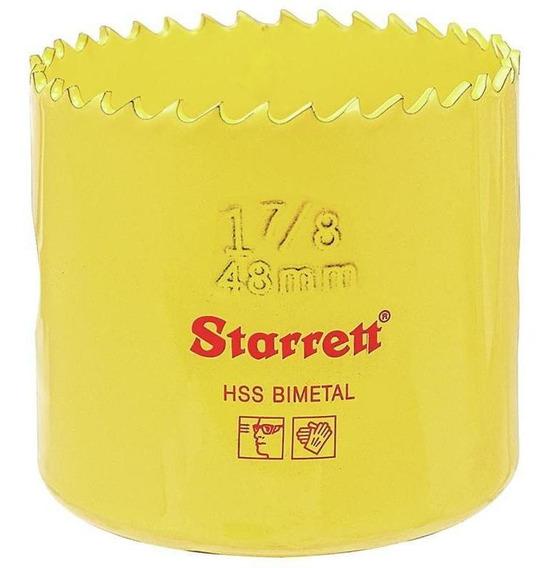 Serra Copo 48mm Starrett Fch0178g-sh