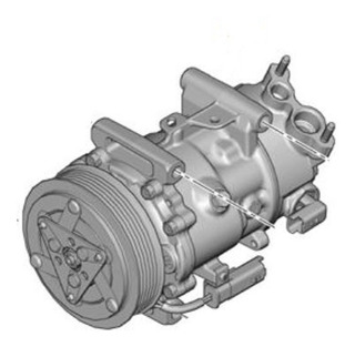 Compresor Aire Acondicionado Peugeot 307 Coupe 2.0
