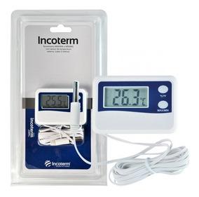Termômetro Digital Máxima E Mínima Cabo De 50cm -50 A +70