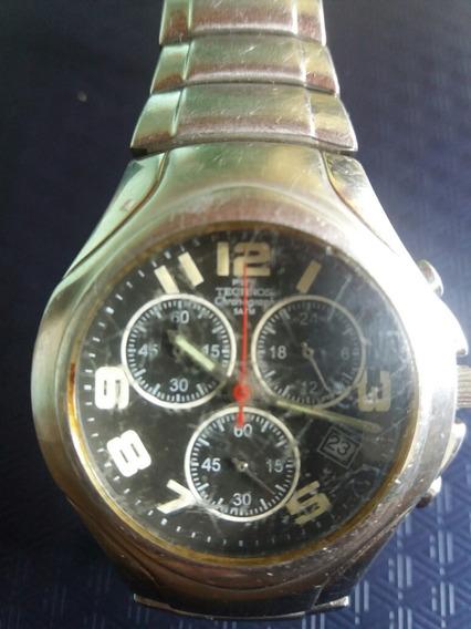 Relógio Technos Chronografo Original Modelo Fs00aa Usado