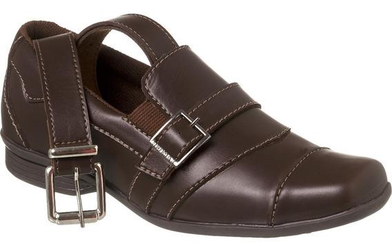 Sapato Social Com Cinto Infantil Menino Redmax A/b929-005