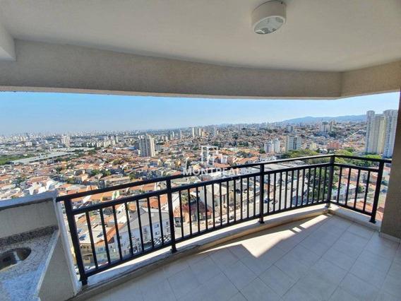 Apartamento Com 3 Dormitórios À Venda, 76 M² Por R$ 520.000,00 - Vila Maria Alta - São Paulo/sp - Ap0859