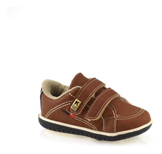 Tênis Klin Cravinho Para Bebê Menino Confortável 166090