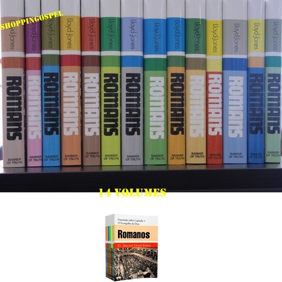 Box Comentário Romanos D Martyn Lloyd Jones 14 Volumes