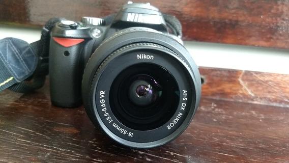 Nikon D60 Perfeito Estado De Conservação E Funcionamento