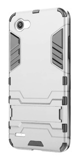 Funda Case Lg Q6 G6 G5 G4 Q7 + Cristal Protector Uso Rudo