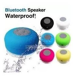Parlante Portátil Bluetotth Waterproof Ventosa Apto Ducha