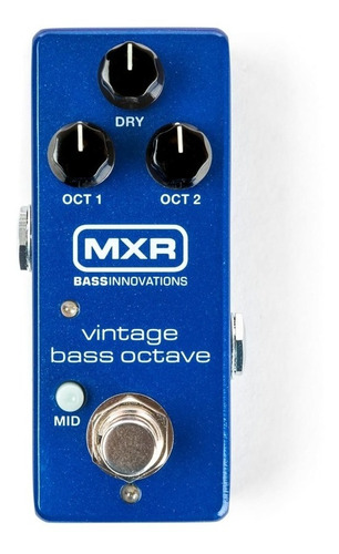 Pedal Mxr M280 Vintage Bass Octave Mini C/ Nfe & Garantia