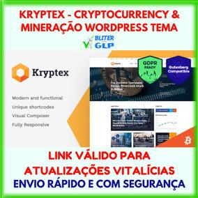 Kryptex - Cryptocurrency & Mineração Wordpress Tema