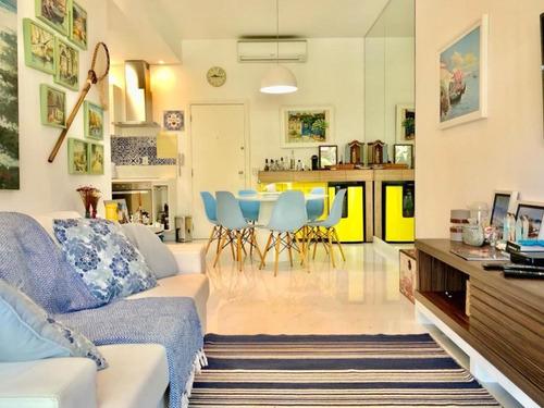 Imagem 1 de 30 de Apartamento Com 2 Dormitórios À Venda, 80 M² Por R$ 880.000,00 - Enseada - Guarujá/sp - Ap11568