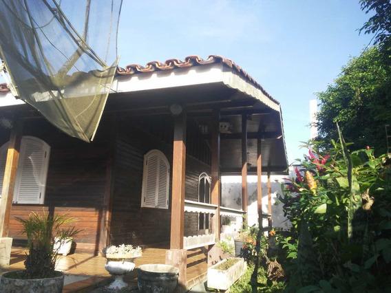 Casa Com 3 Dormitórios, 100 M/mar, Piscina E Casa De Caseiro