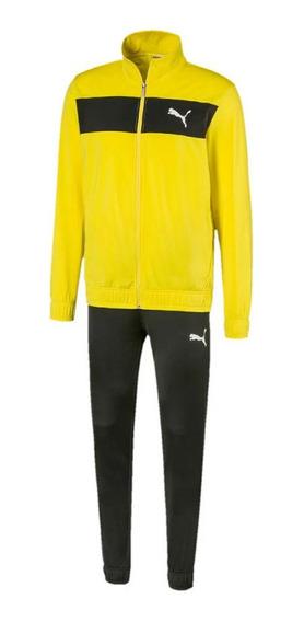 Agasalho Puma Techstripe Tricot Suit Cl - Masculino