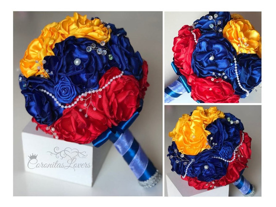 Bouquet De Novia, Bouquet Flores De Tela